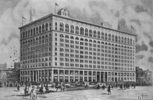 The second Wanamaker's department store, opened in Philadelphia in 1911.