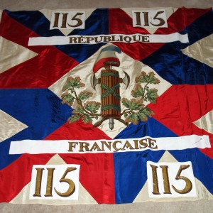Colour of the 115th Demi-Brigade (French Republic of revolutionary period)