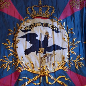 Colour of the 50th Regiment of Infantry of the Kingdom of Prussia (detail)