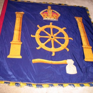 Banner of the Worshipful Company of Turners (London guild)