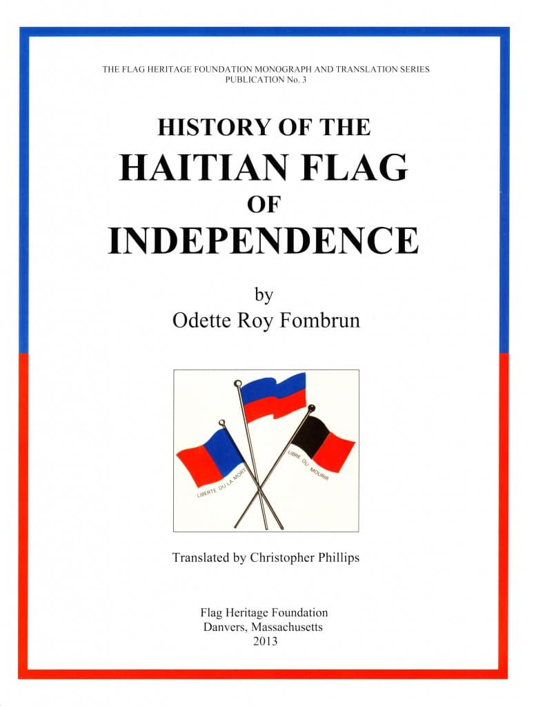 History of the Haitian Flag cover